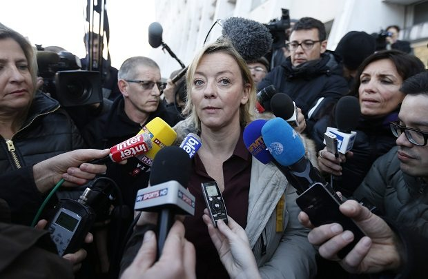 Sabine Kehm (Fotó: MTI/EPA/GUILLAUME HORCAJUELO
