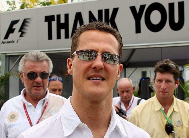 Michael Schumacher (Fotó: MTI/EPA/Gero Brelör)