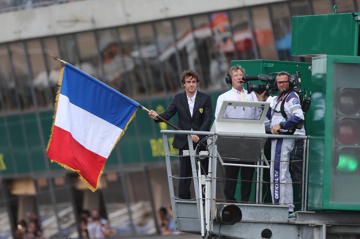 Fernando Alonso  egyelőre ilyen formában jutott a legközelebb a Le Mans-i 24 óráshoz, 2014-ben (Moy / XPB Images)