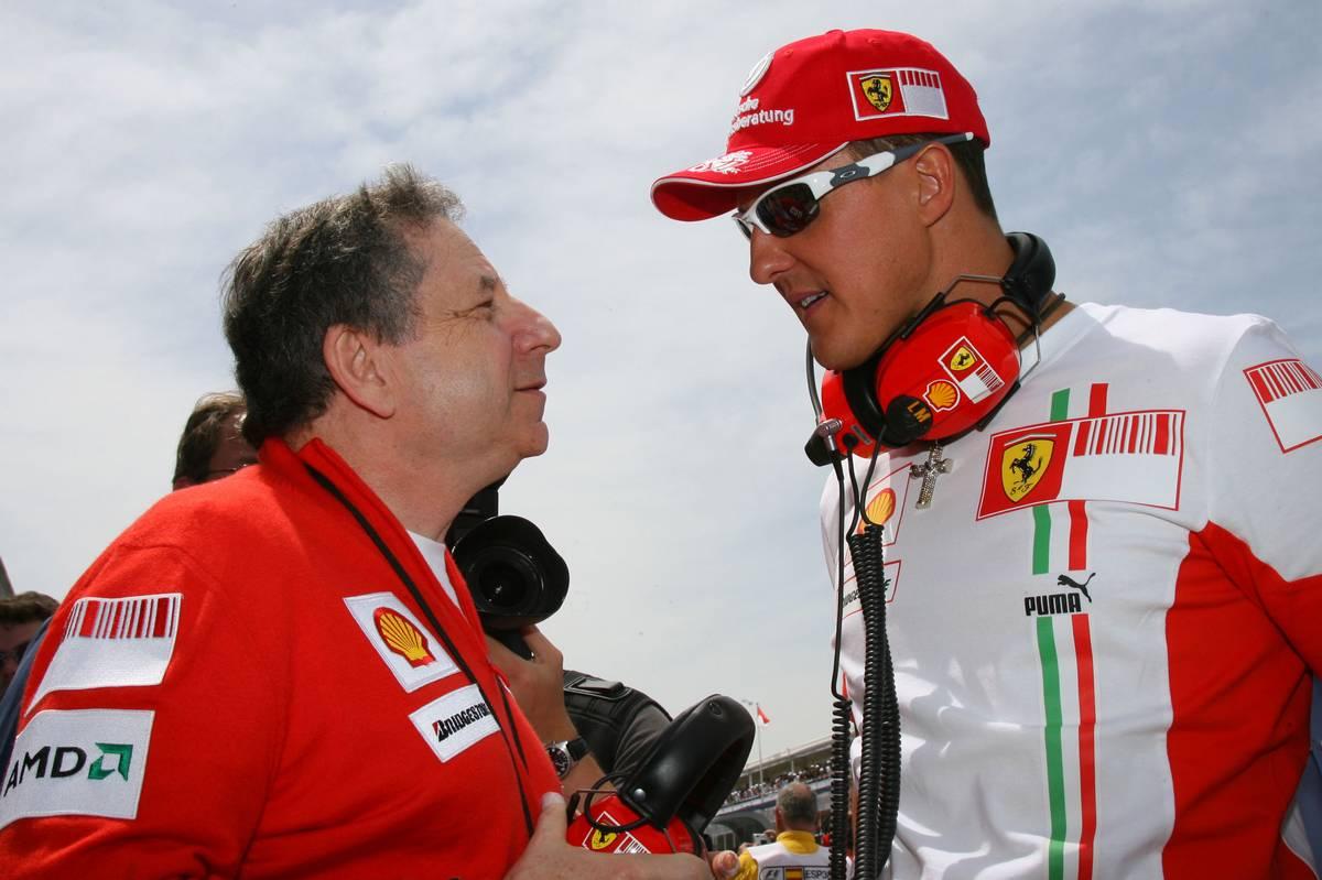 Jean Todt és Michael Schumacher (Fotó: Batchelor / xpb.cc)
