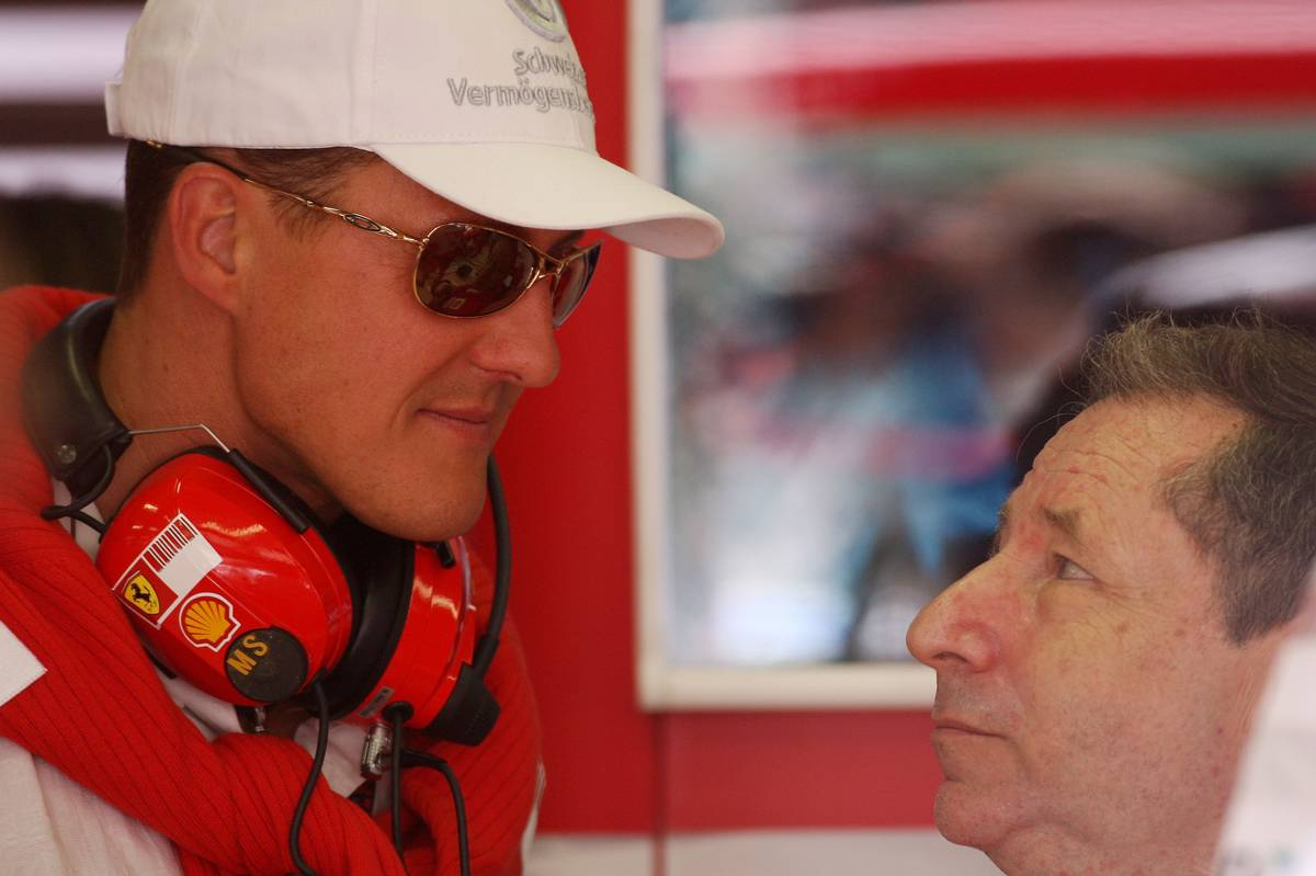 Michael Schumacher és Jean Todt 2007-ben (Fotó:  Davenport / xpb.cc)