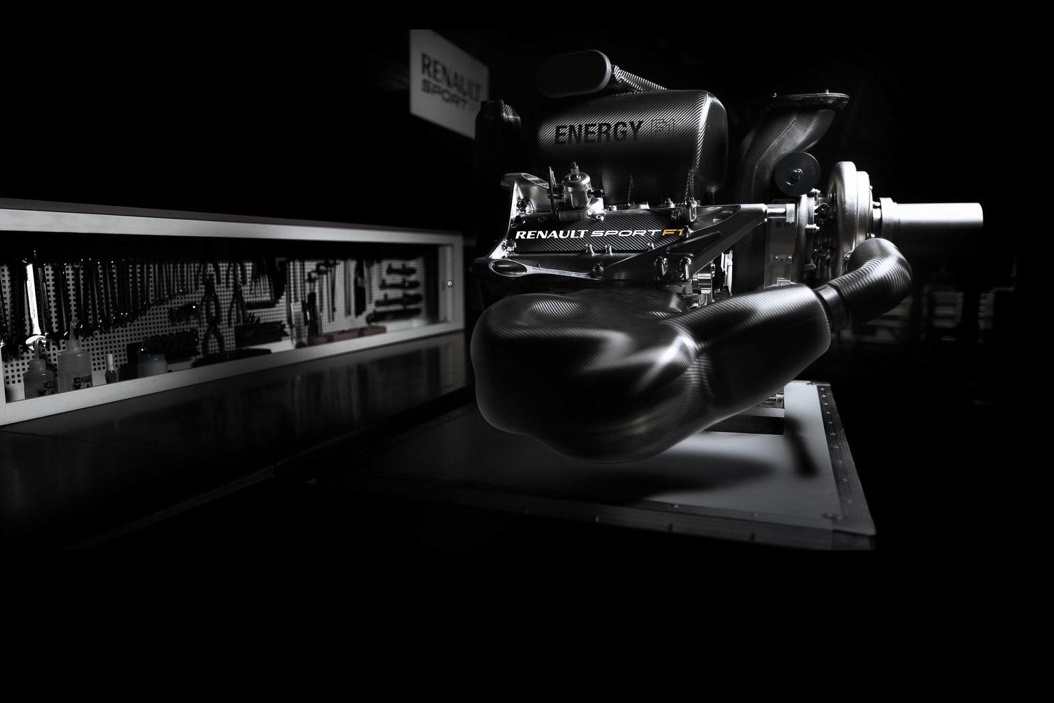 A Renault V6-os turbóerőforrása (Fotó: Renault)