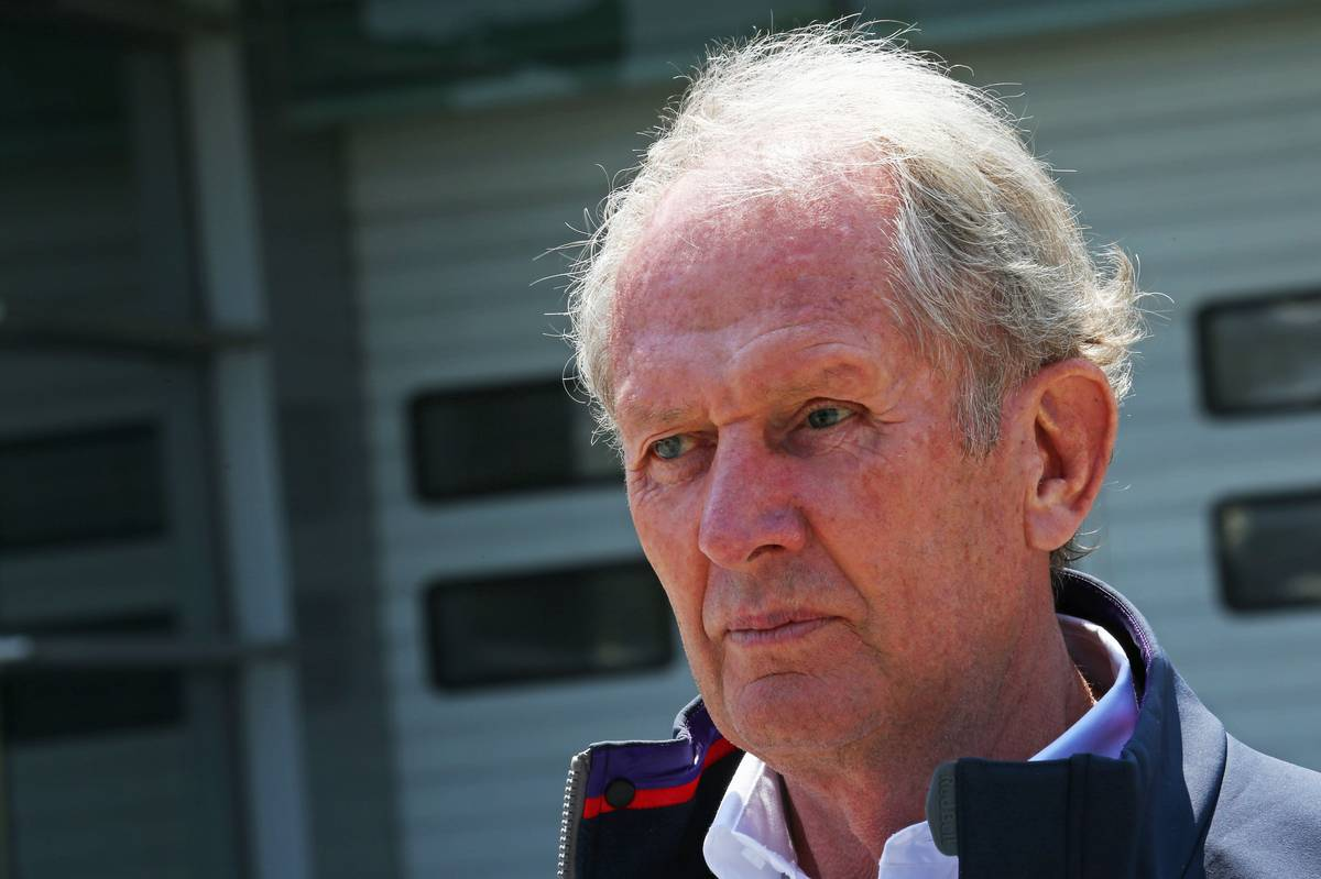 Helmut Marko (Fotó:  Batchelor / XPB Images)