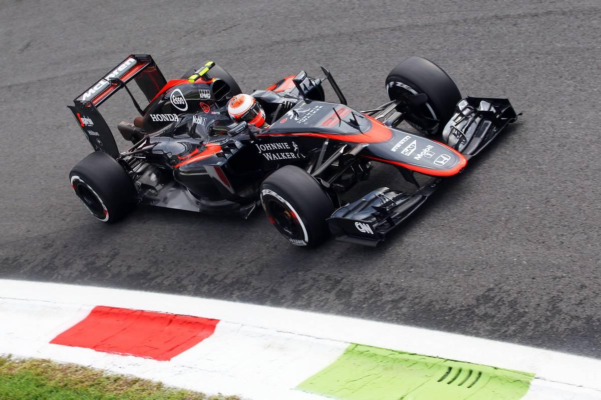 Jenson Button az Olasz Nagydíjon (Fotó: xpbimages.com)