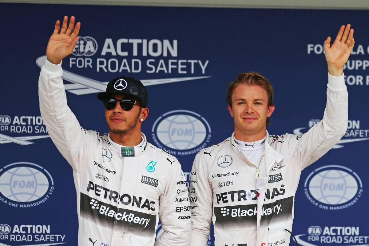 Lewis Hamilton és Nico Rosberg (Fotó: XPB Images)