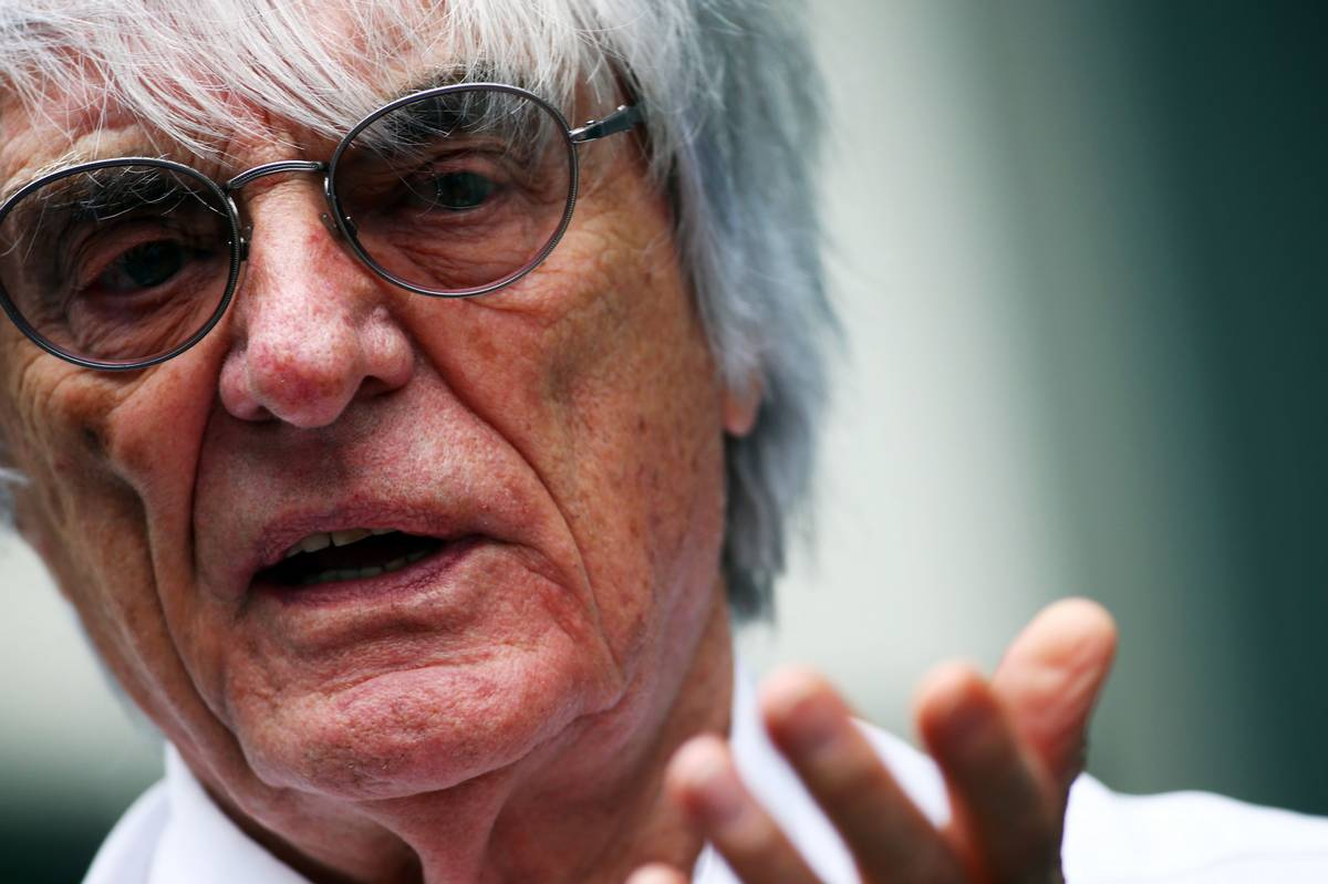 Bernie Ecclestone (Fotó: Batchelor / XPB Images)