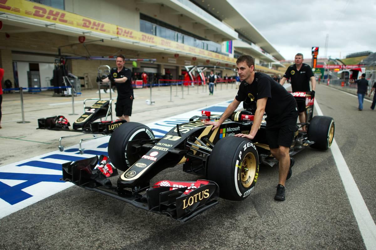 Lotus E23 (Fotó: Price / XPB Images)