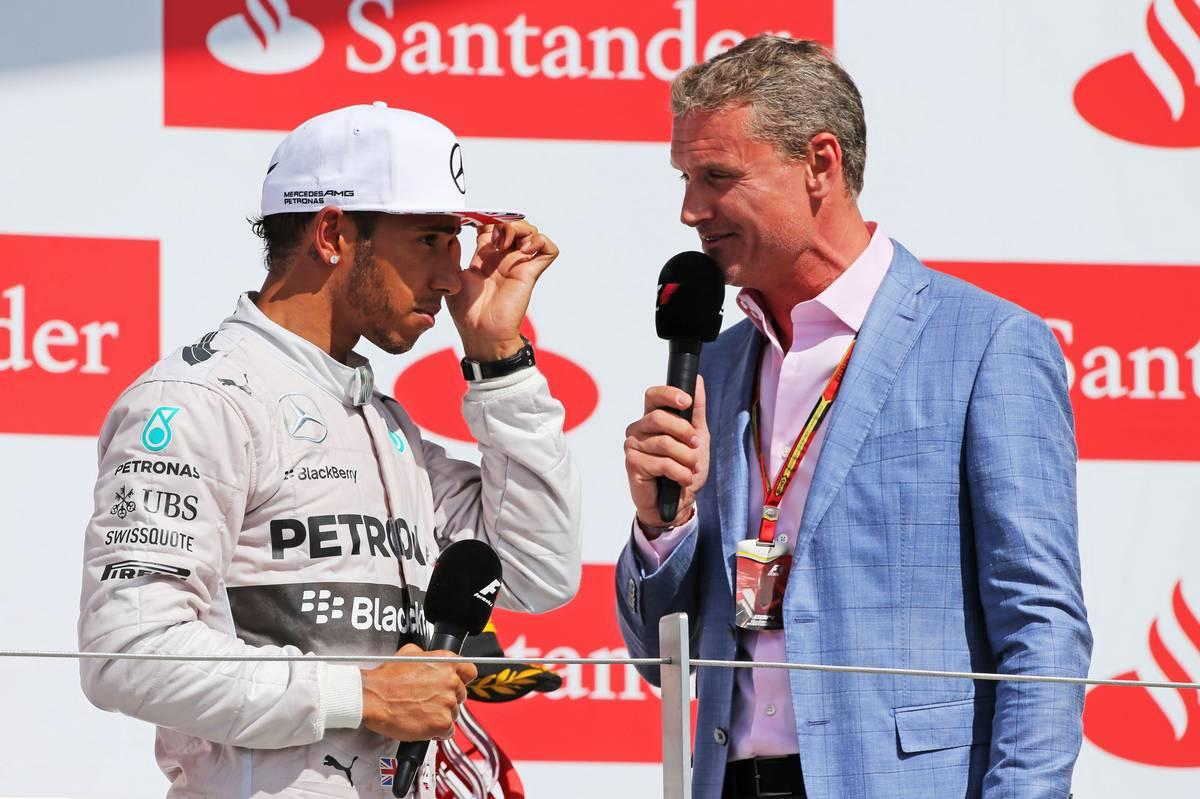 Lewis Hamilton és David Coulthard (Fotó: xpbimages.com)