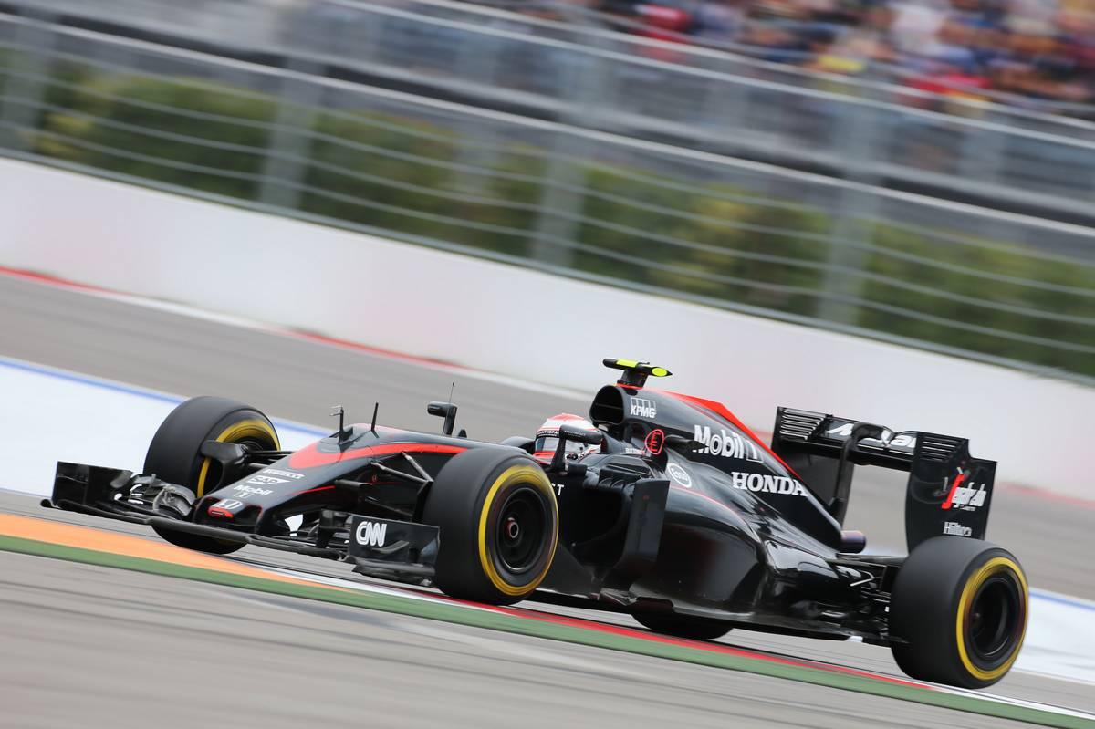 A McLaren 2015-ös autója (Fotó: xpbimages.com)
