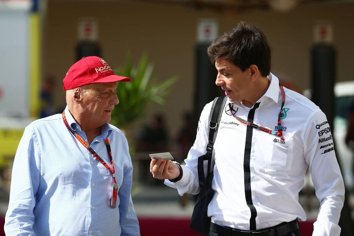 Niki Lauda és Toto Wolff (Fotó: Trienitz / XPB Images)