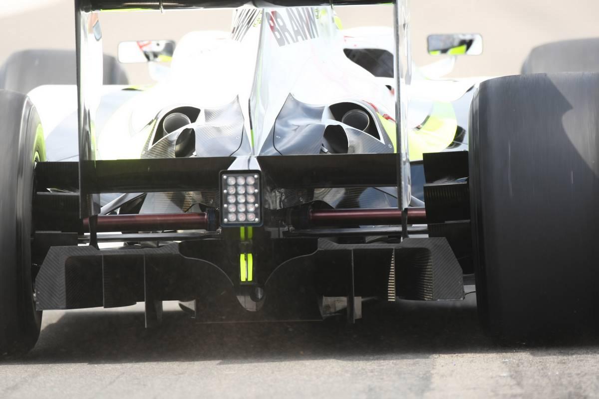 A Brawn GP dupla diffúzora (Fotó: xpbimages.com)