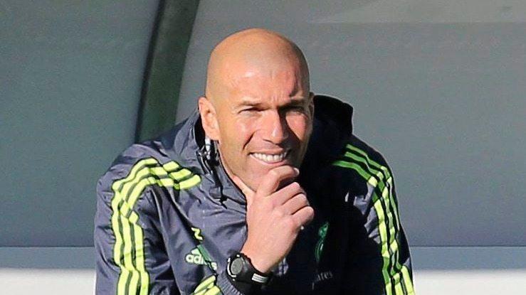 Zinedine Zidane - fotó: MTI/EPA/Ballesteros