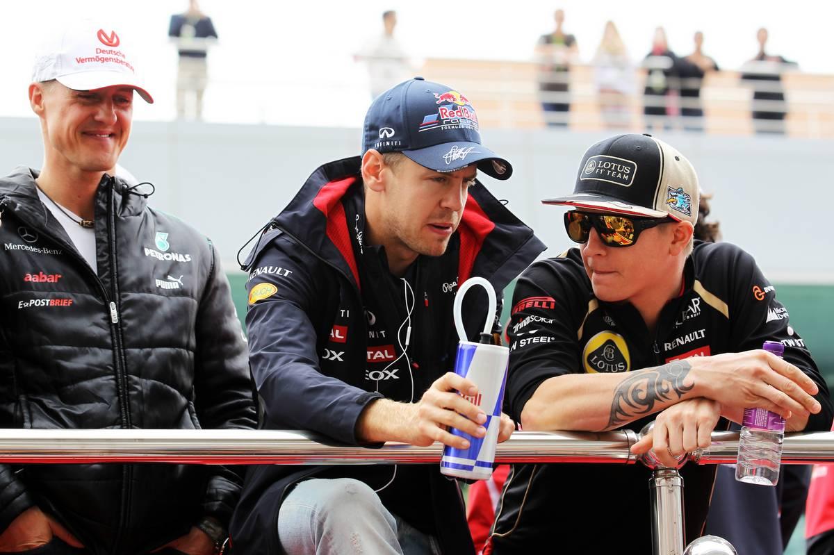 Michael Schumacher, Sebastian Vettel és Kimi Räikkönen is Svájcban telepedett le (Fotó: xpbimages.com)