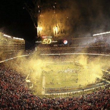 A Denver Broncos 24-10-re legyőzte a Carolina Panthers együttesét az észak-amerikai profi amerikaifutball-liga (NFL) idei nagydöntőjében, az 50. Super Bowlban. San Francisco, 2016. február 7.EPA/TONY AVELAR