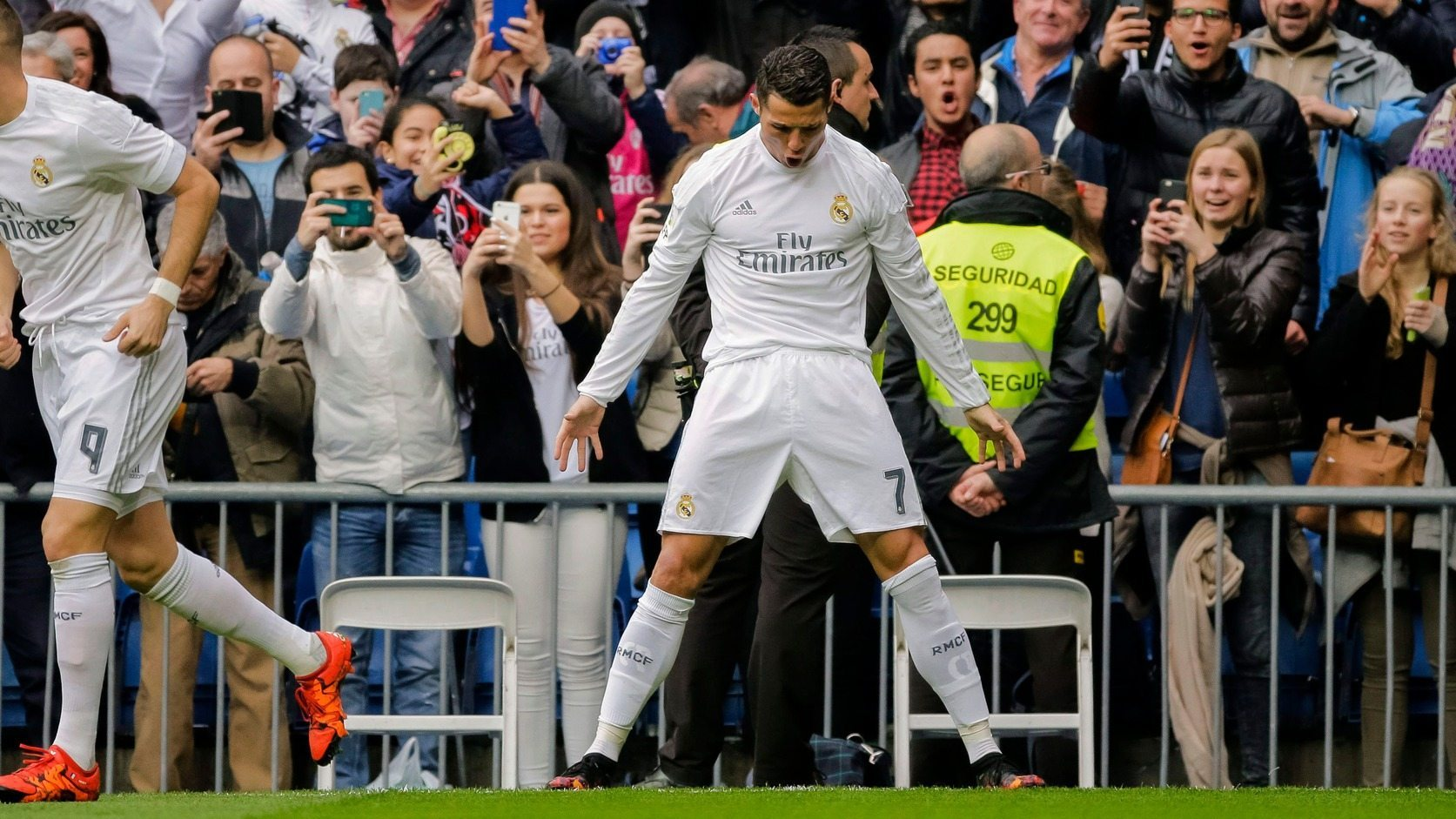 Cristiano Ronaldo - fotó: EPA/Emilio Naranjo