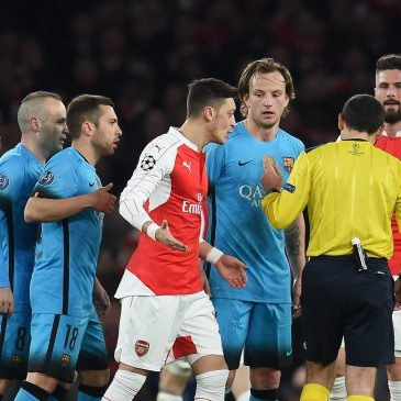 Arsenal-Barcelona 0-2 - fotó: EPA/Andy Rain