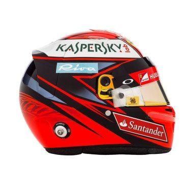 Kimi Räikkönen sisakja (Fotó: Ferrari)