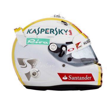 Sebastian Vettel sisakja (Fotó: Ferrari)