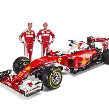 Sebastian Vettel, Kimi Räikkönen (Fotó: Ferrari)