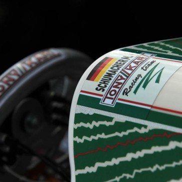 Michael Schumacher és a lonatói Tony Kart-teszt (Fotó: tonykart.com)