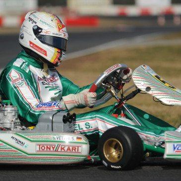 Sebastian Vettel Lonatóban (Fotó: tonykart.com)