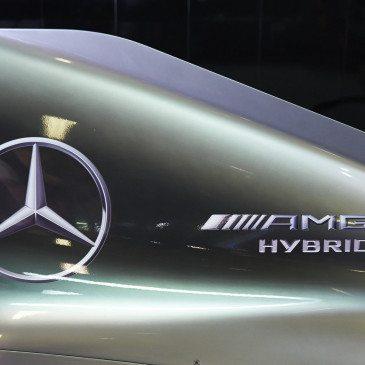 A Mercedes W07-es (Fotó: Daimler Media)
