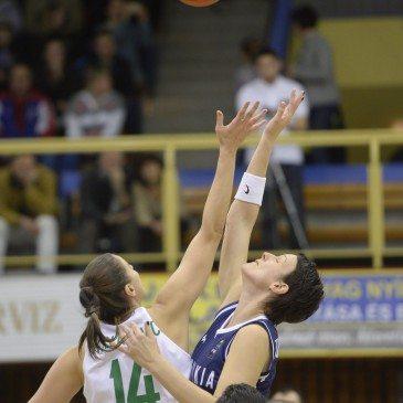 Magyarország-Szlovákia Eb-selejtező - Krivacevic Tijana és Anna Jurcenková - MTI Fotó: Sóki Tamás