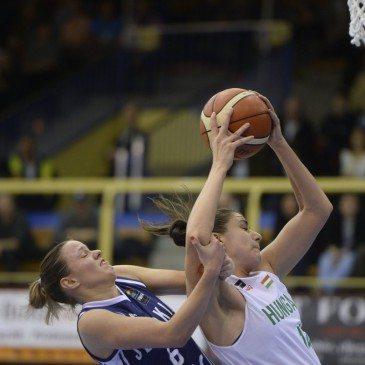 Magyarország-Szlovákia Eb-selejtező - Krivacevic Tijana és Dominika Baburova - MTI Fotó: Sóki Tamás