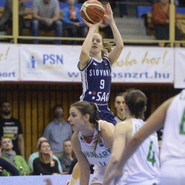 Magyarország-Szlovákia Eb-selejtező - Terézia Páleníková - MTI Fotó: Sóki Tamás