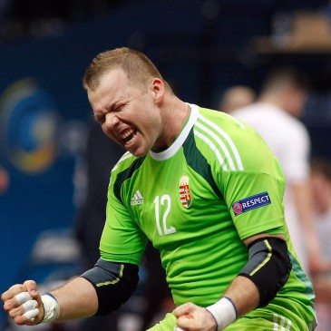 Magyarország-Spanyolország csoportmeccs a futsal Eb-n - Tóth Gyula - fotó: MTI/EPA/Koca Sulejmanovic