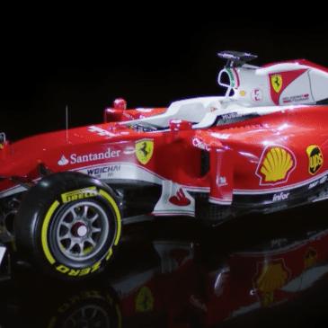 Itt az új Ferrari, az SF16-H (Fotó: Ferrari)