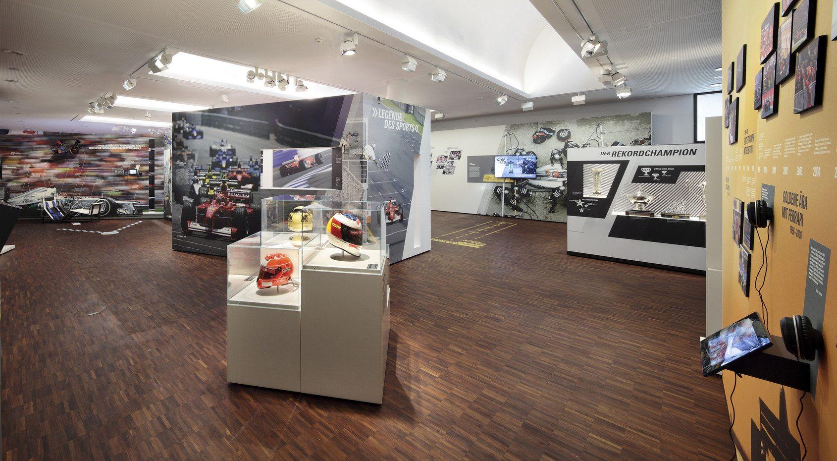 A Michael Schumacherről nyílt kiállítás (Fotó: Deutsche Vermögensberatung)