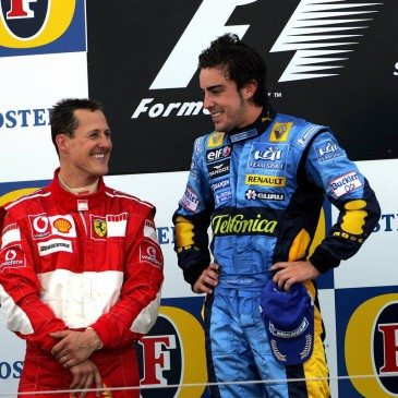 Formula 1 Grand Prix, England, Sunday Podium