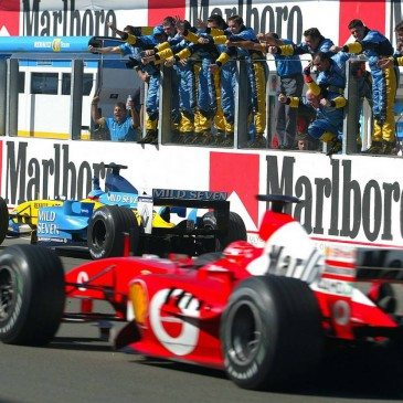 F1 in Budapest 2003, So, Rennen....