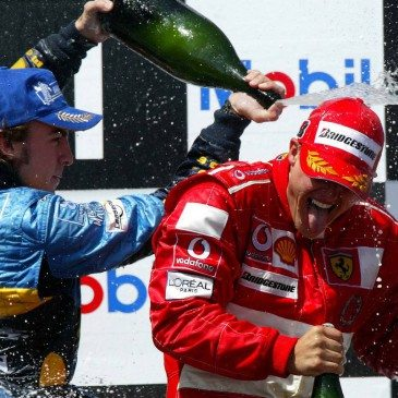 Formula 1 Grand Prix, France, Podium