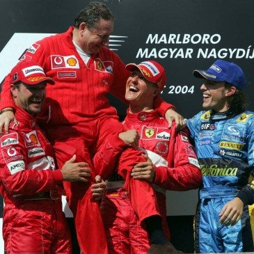 Formula 1 Grand Prix, Hungary, Podium
