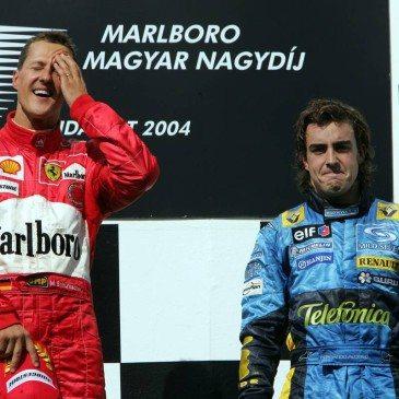 Formula 1 Grand Prix, Hungary, Podium