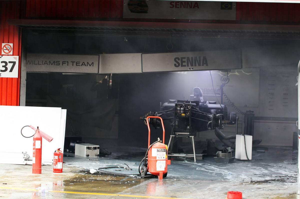 A barcelonai garázstűz (Fotó: xpbimages.com)