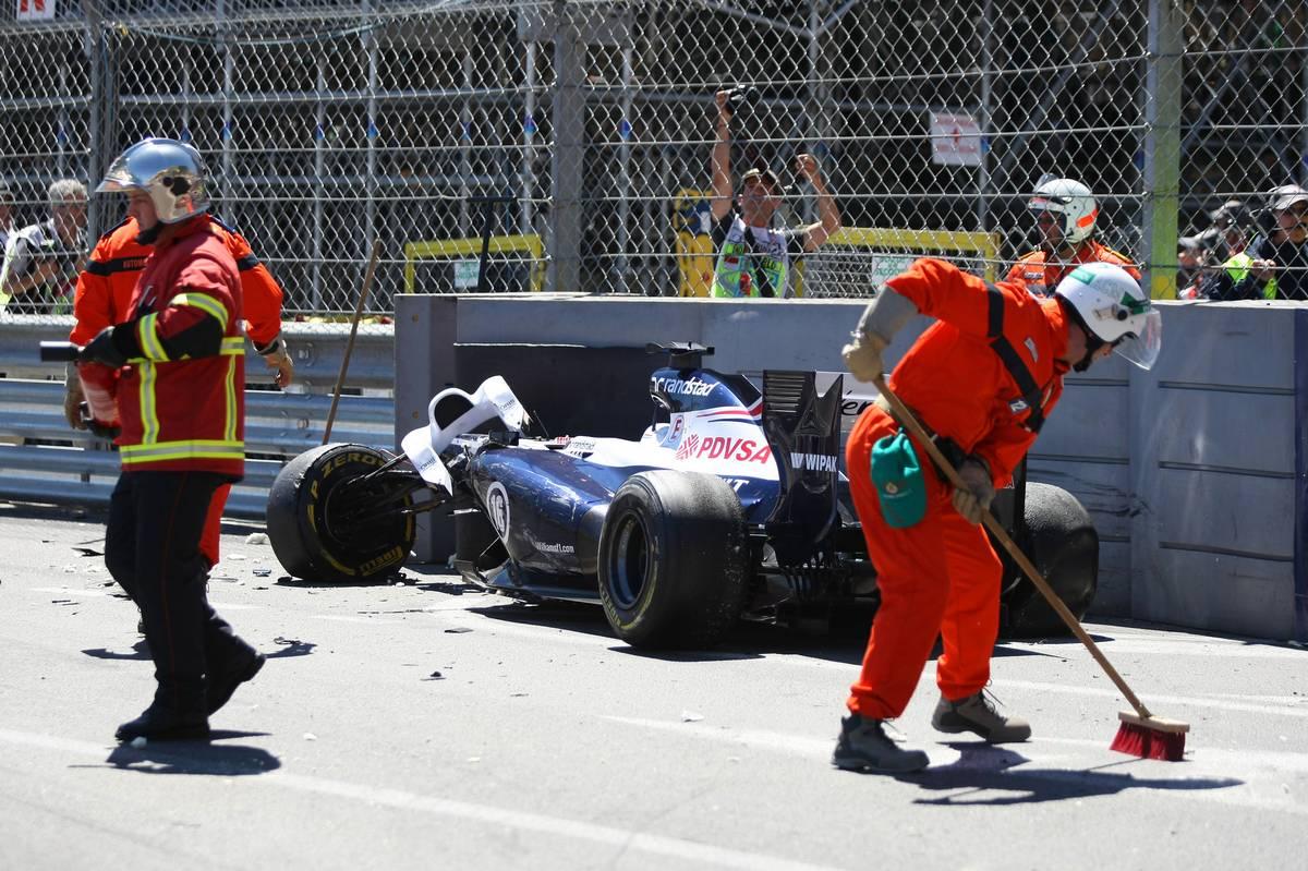 A 2013-as monacói baleset (Fotó: xpbimages.com)