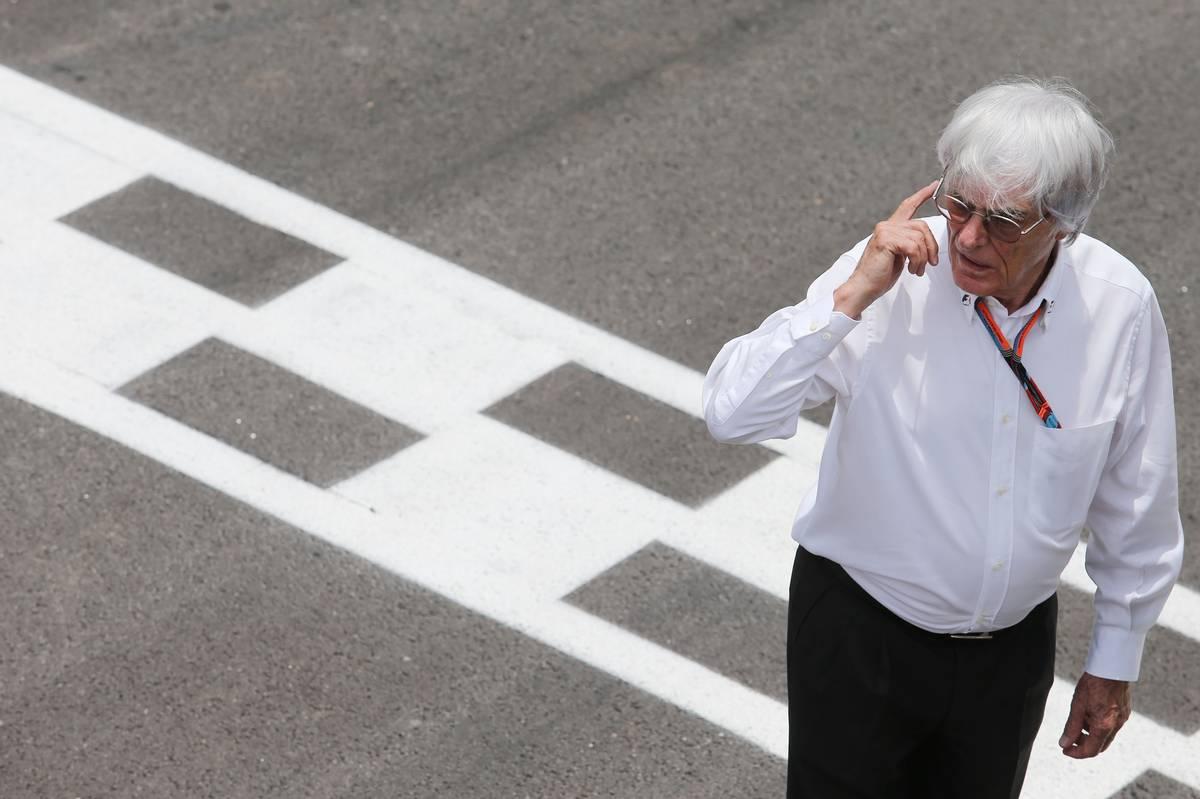Bernie Ecclestone a fordított rajtrácsért kampányol (Fotó: xpbimages.com)
