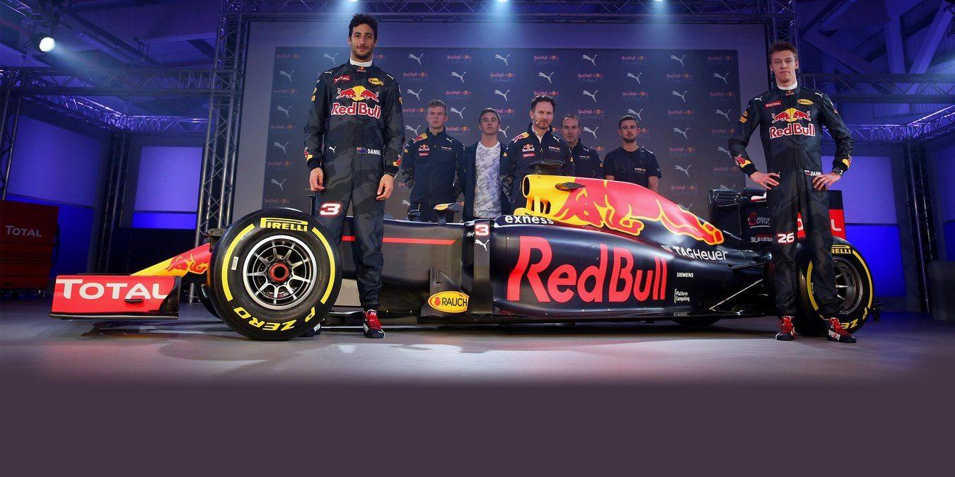 A új autó és ruházati dizájn (Fotó: Red Bull)