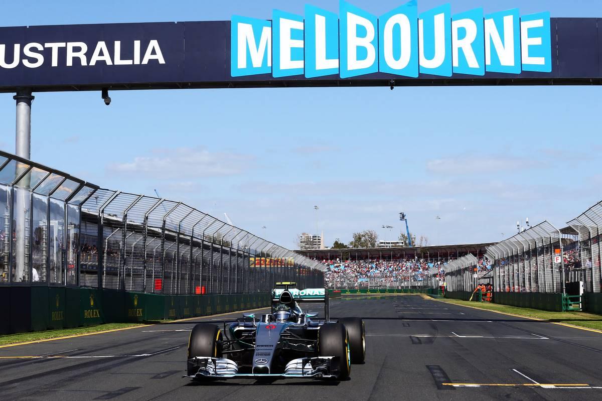 Nico Rosberg a 2015-ös ausztrál rajtrácson (Fotó: xpbimages.com)