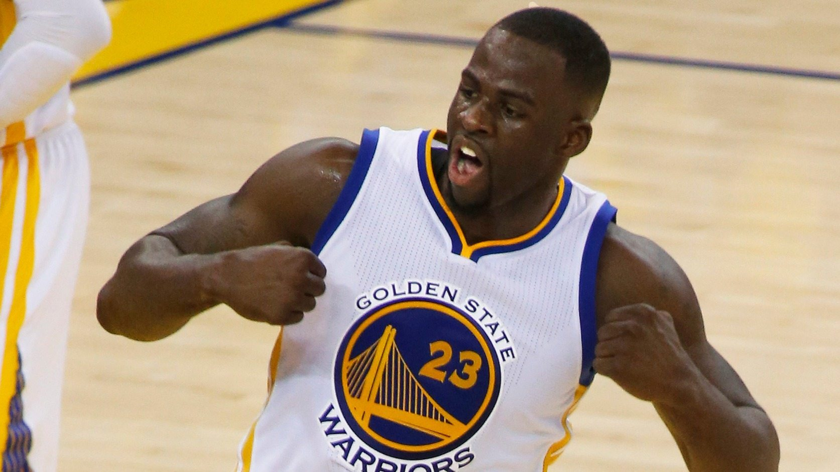 Golden State Warriors - Draymond Green - fotó: EPA/Monica M. Davey