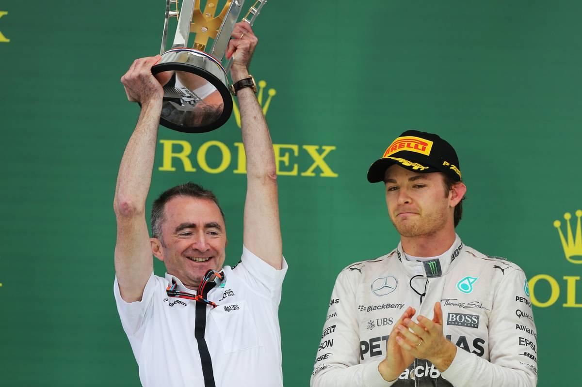 Paddy Lowe és Nico Rosberg (Fotó: xpbimages.com)