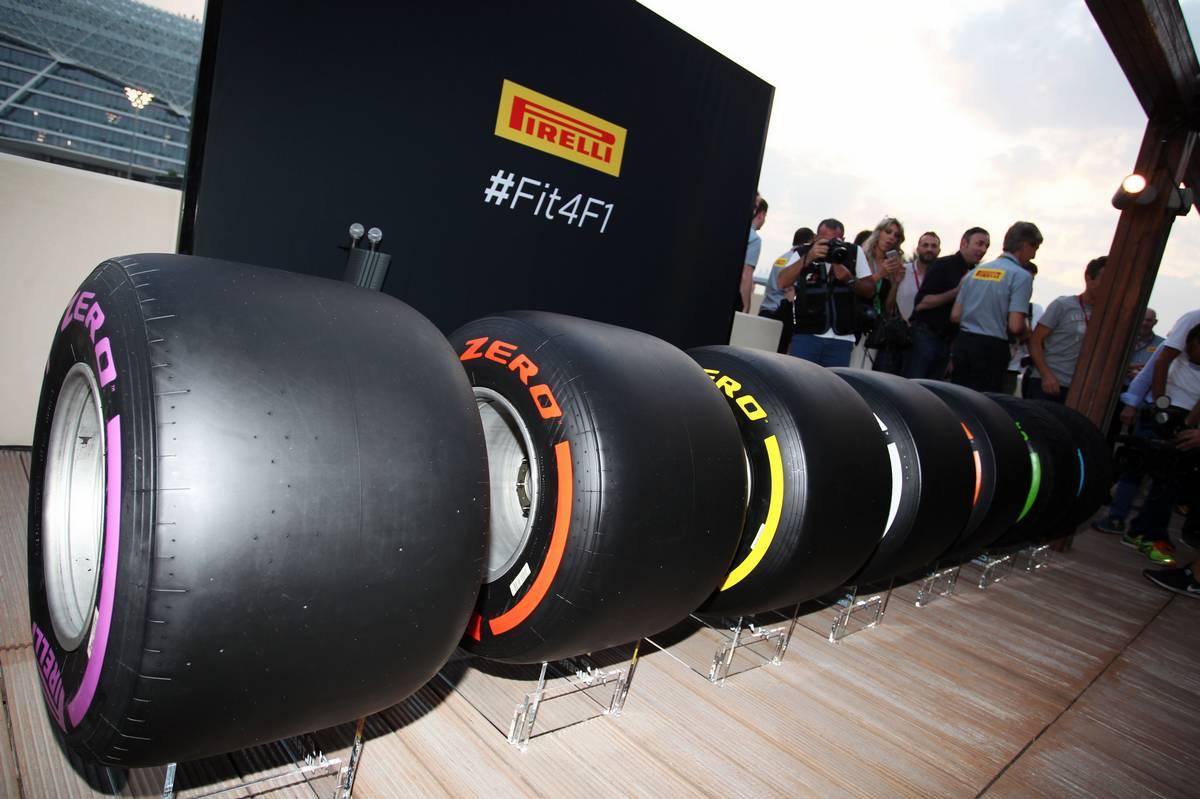 A Pirelli 2017-es keverékei (Fotó: Photo4 / XPB Images)