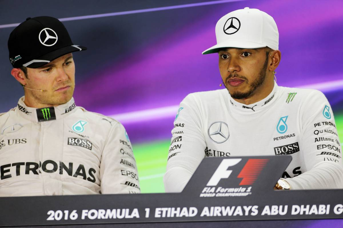 Nico Rosberg és Lewis Hamilton (Fotó: xpbimages.com)