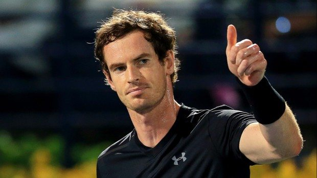 Andy Murray - fotó: EPA/Stringer