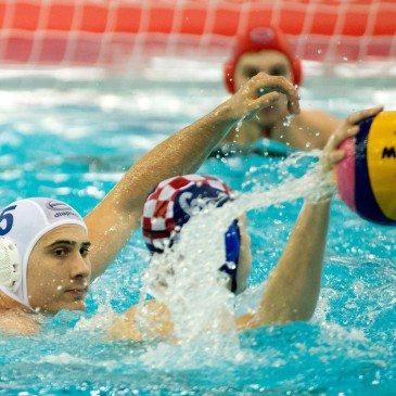 Magyarország-Horvátország - Vámos Márton és Luka Bukic - MTI Fotó: Koszticsák Szilárd