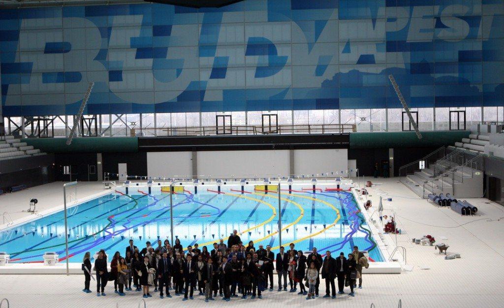 Lenyűgözte a FINA-delegációt az új Duna Aréna  940e663ded