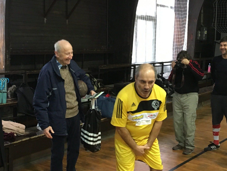 Várkonyi Sándor (balra) és Rudolf Péter - fotó: m4sport.hu